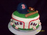Red Sox Cake - 122F