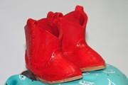 Gumpaste Cowgirl Boots