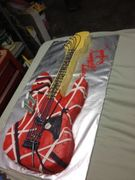 frankenstrat guitar cake