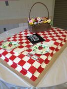 Bistro Basket Bash Cake