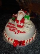 Christmas cake in May