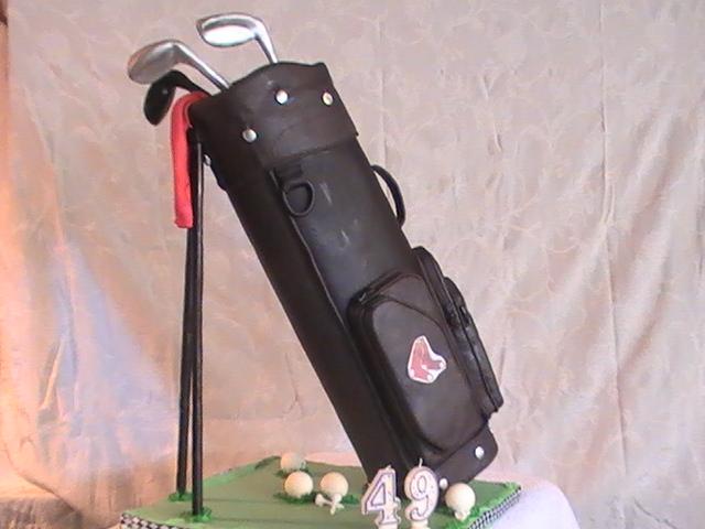 Golf Bag Cake - 625F