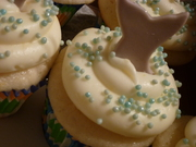 Dolphin Tail Cupcakes - 729F