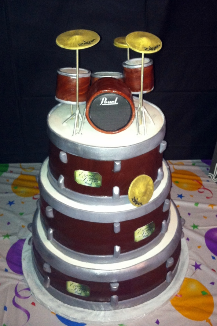 Drum Cake 1
