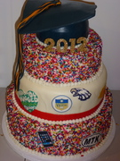 My Daughter's H.S. Graduation Cake