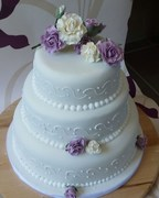 Emmas wedding cake