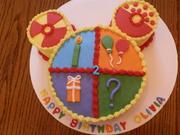 Disney Toodles cake