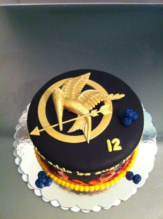 Outstanding Hunger Games Cake Cake Decorating Community Cakes We Bake Funny Birthday Cards Online Elaedamsfinfo