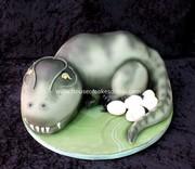 3D shape Dinosaur cake dubai
