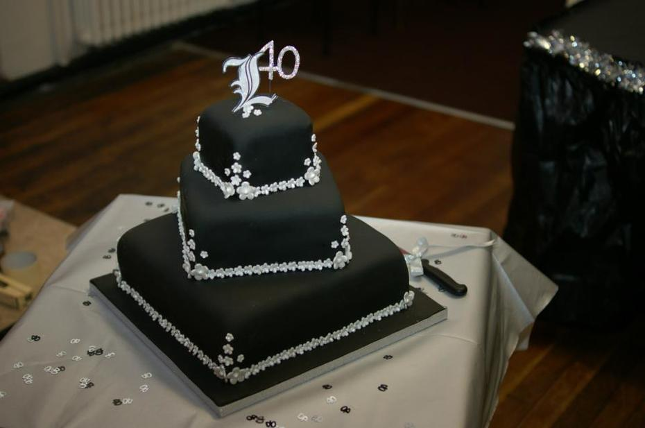 Black and Bling 40th Birthday