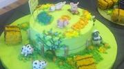Farm Animals Birthday Cake 1119F