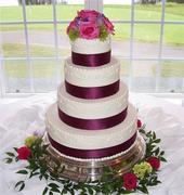 Alison and Darryl's Wedding Cake