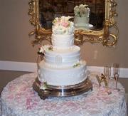 Erin and Owen's Wedding Cake