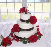 Ribbon and Silk Roses