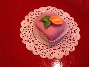 Petit Four with Calla Lily