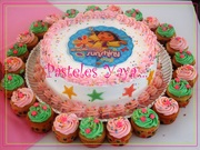 Dora Birthday Cake n Cupcakes