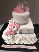 BLING ENGAGEMENT CAKE