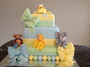 Baby Animals Cake