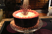 Mom's 88th Birthday Cake
