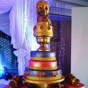 arabian inspired cake