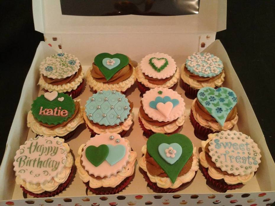 Cupcakes for Katie