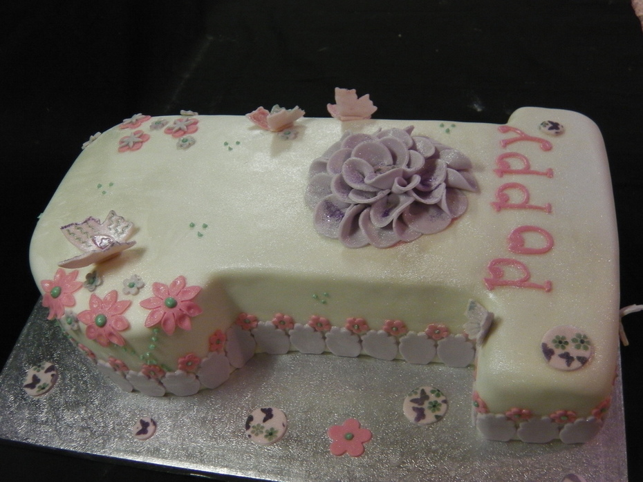 1st Birthday Cake Poppy
