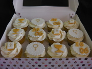 First Holy Communion  Cupcakes