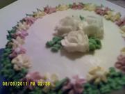 flower cake number 1