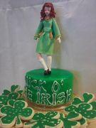 St Patrick's Day Cake Topper