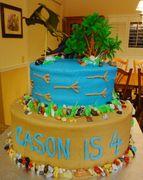 Dinasaur Cake