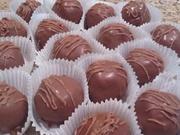 Hazelnut Cappuccino truffles