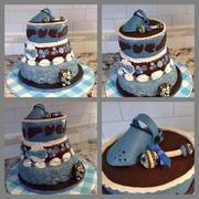 My Daughter's Baby Shower Cake