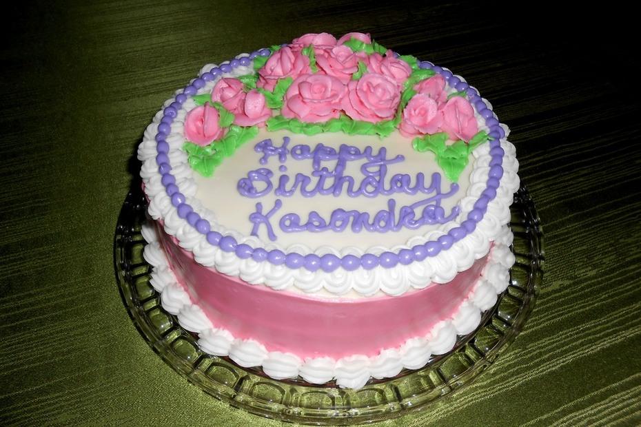 Kasondra's Birthday Cake