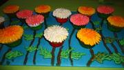 cup cake garden