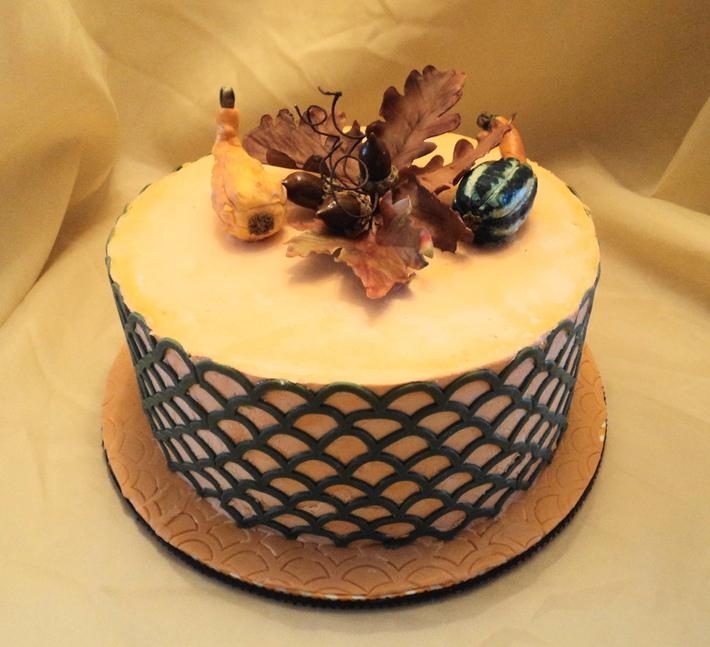 Thanksgiving/Birthday cake - Cake Decorating Community ...