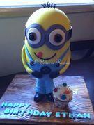 Minion cake for my nephew!