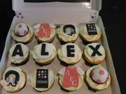 Birthday Cupcakes for Alex