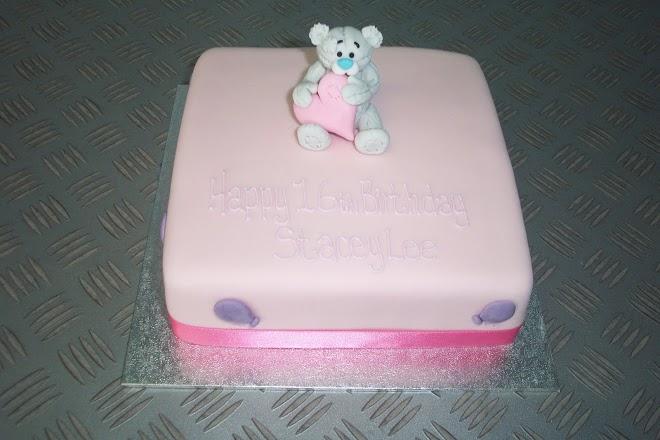 teddy bear & heart