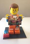 Lego Emmit cake.