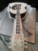 Life Size Guitar Grooms Cake