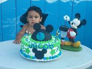 Jacobs first birthday