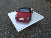 Fiat car cake