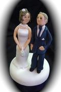 Gumpaste Wedding Couple