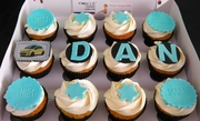 Happy Birthay Cupcakes for Dan