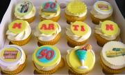 Martin's 50 th Cupcakes