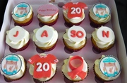 Happy Birthday Cupcakes for Jason