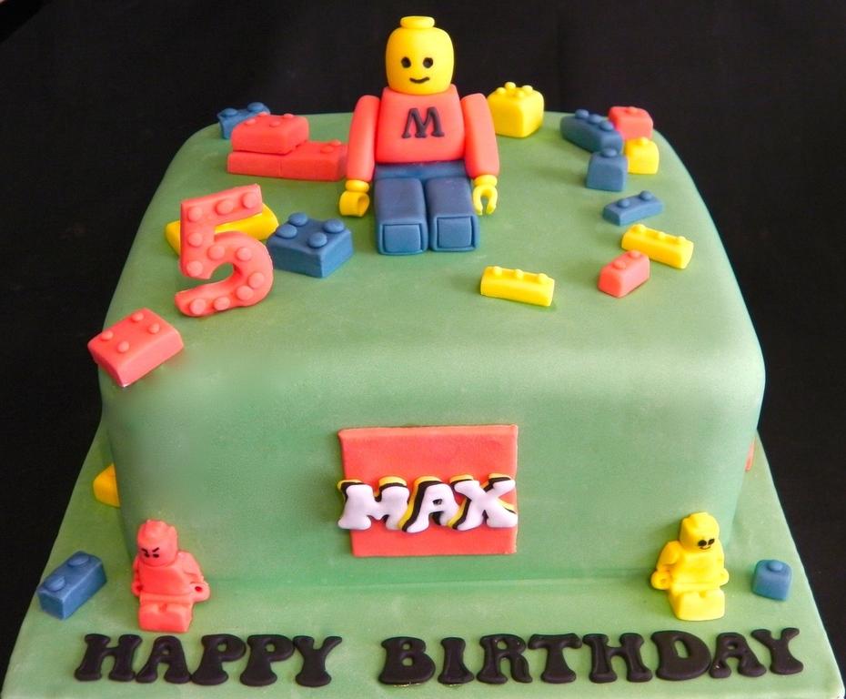 Max's Lego Birthday Cake