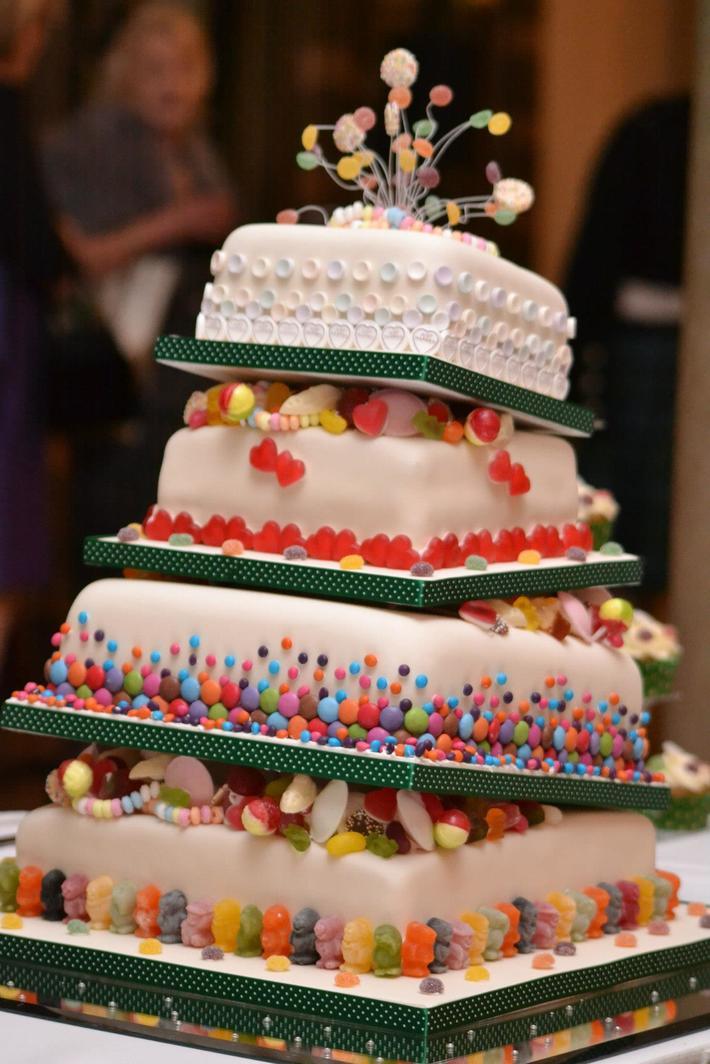 Scottish Wonky Sweety Cake TOPSY 14F