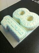 Number 18 cake