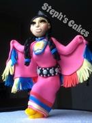 Native Fancy Shawl Dancer